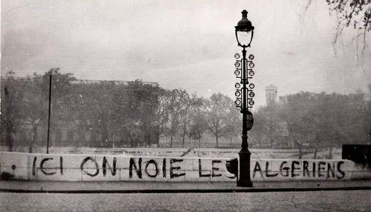 À LA MÉMOIRE DES MANIFESTANTS ALGÉRIENS MASSACRÉS LE 17 OCTOBRE 1961 A PARIS