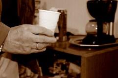 El momento de la mañana: el café del almuerzo con los compañeros (y amigos). MARTA LASA
