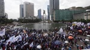 demo buruh 10 desember 2014