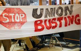 stop union busting