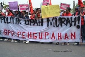 Lawan Kriminalisasi dan Tolak RPP Pengupahan