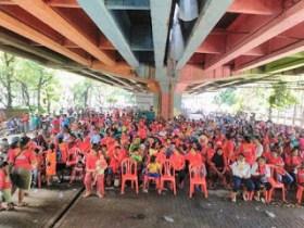Ribuan Rakyat Miskin Deklarasi Lawan Kebijakan Penggusuran Ahok