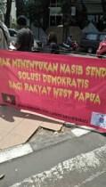 Aksi Aliansi Mahasiswa Papua Dilarang Polisi