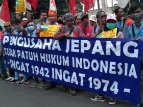 Buruh Tuntut Perusahaan Jepang Patuh Hukum