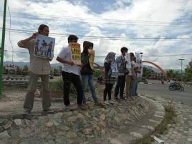 Aksi di Palu: Golput Adalah Hak!