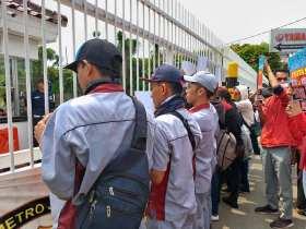 Kronik Protes Buruh PT Trimitra Chitrahasta