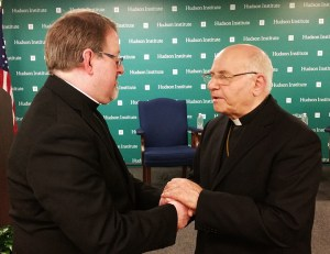 Bishop of Aleppo with Father Hunter-Hall1