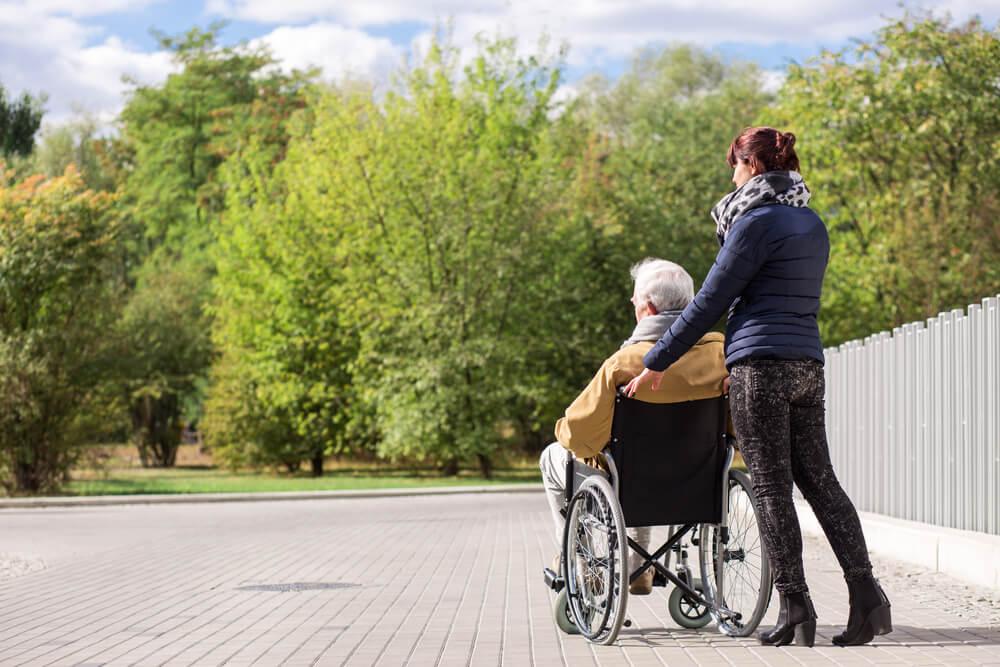 Starostlivosť o imobilného seniora
