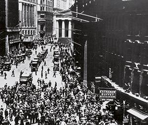 Traditionelle Finanzprodukte - Der schwarze Freitag