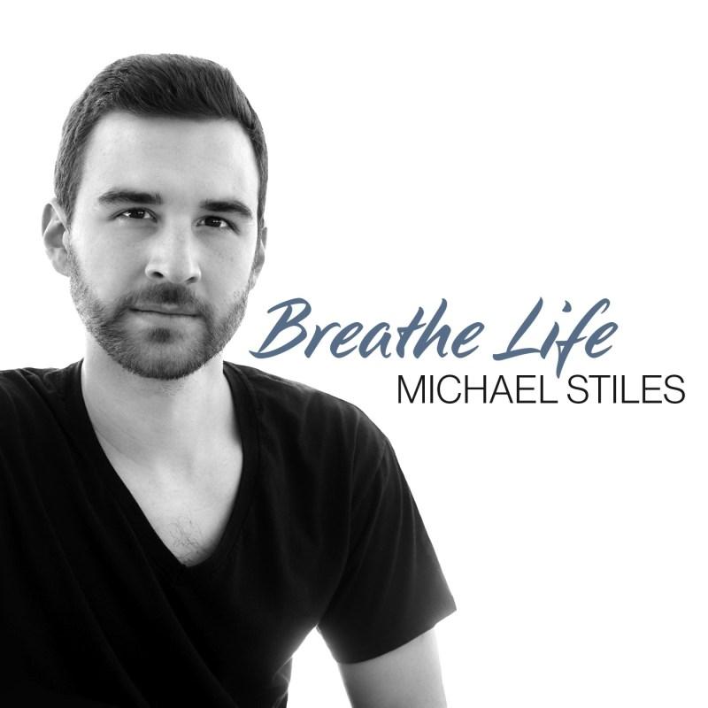 """Album cover Michael Stiles """"Breathe Life"""""""