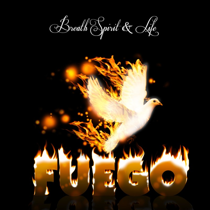 "Breath Spirit & Life album cover for ""Fuego"""