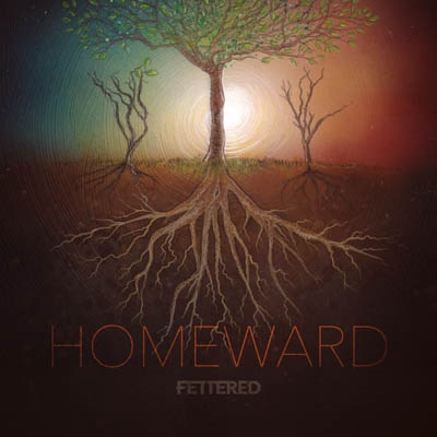 The band Fettered's cover for their Homeward EP