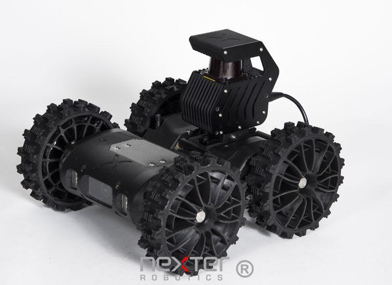 robot léger de cartographie