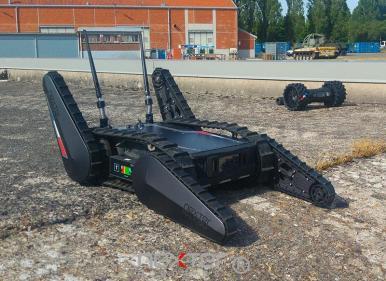 robot téléguidé pour la défense sécurité civile
