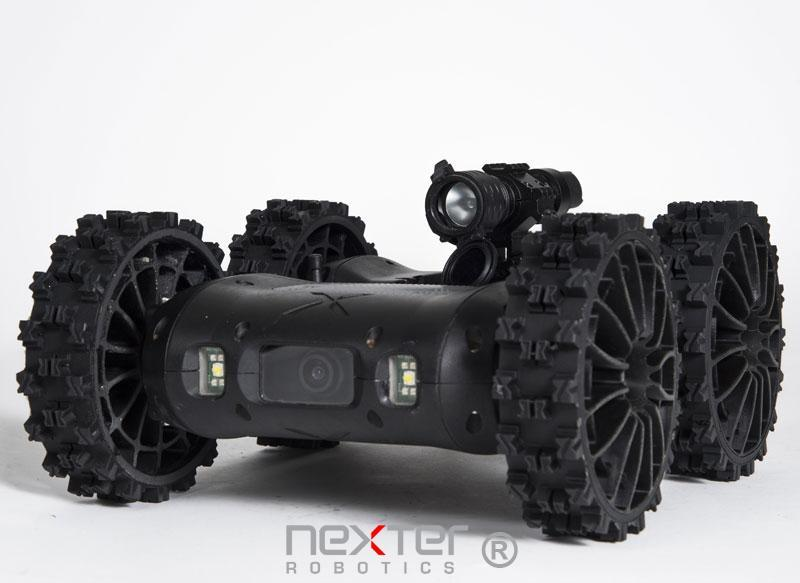 robot léger sécurité civile armée défense