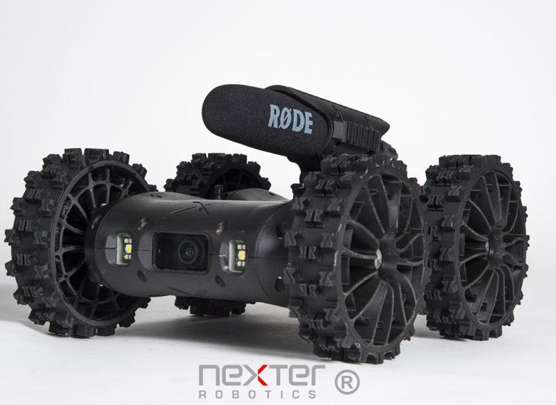 robots nerva de nexter robotics micro