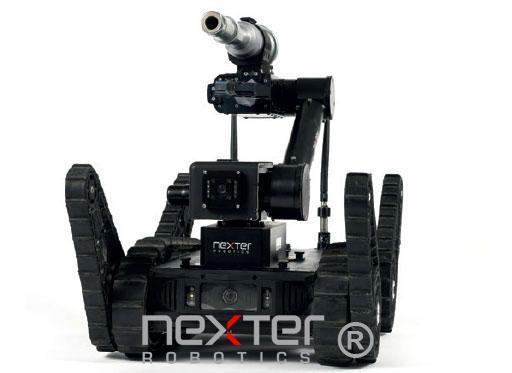 Disrupteur robot téléguidé léger