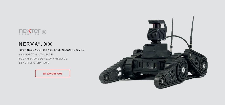 robot léger de reconnaissance