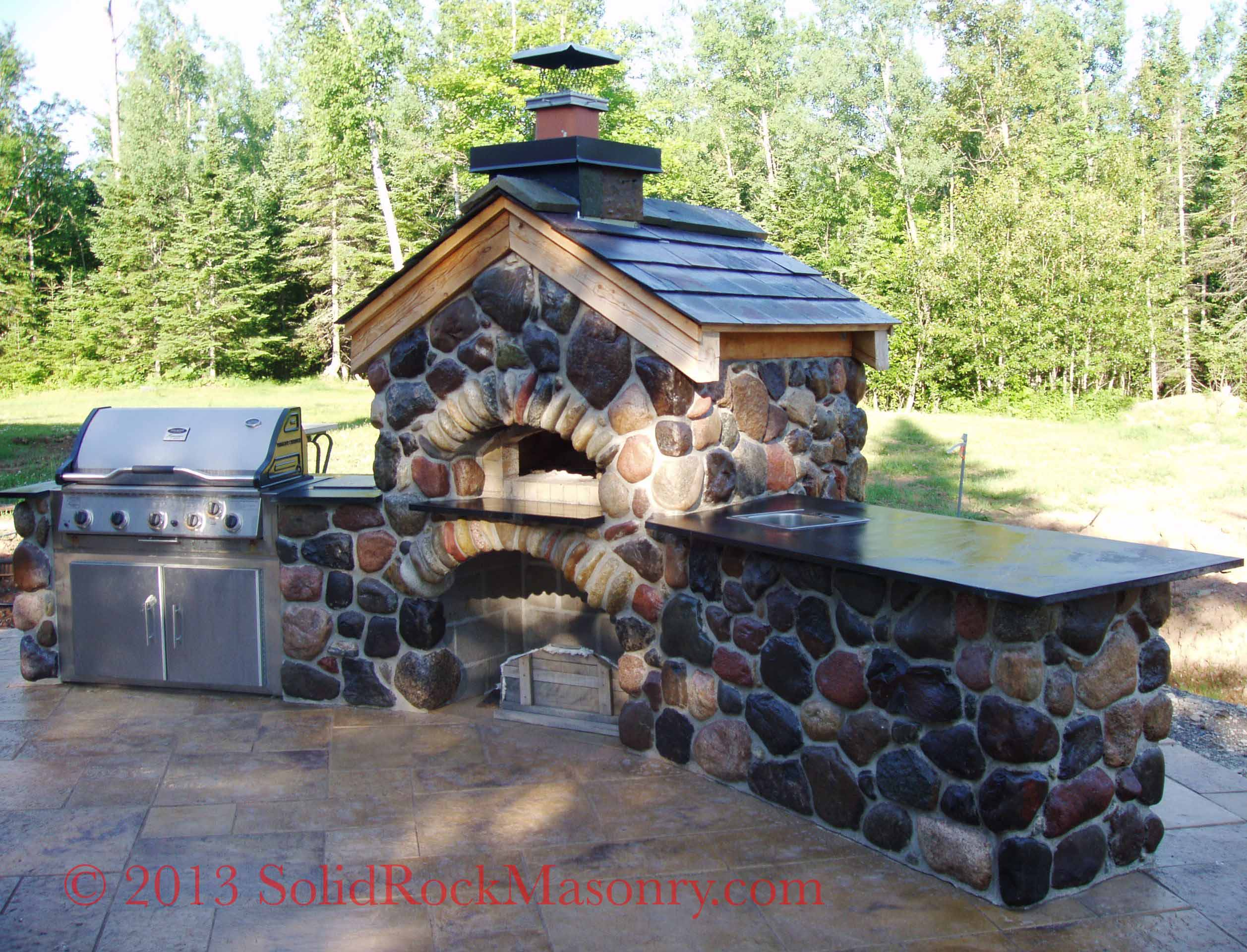 Stone Work Masonry Solid Rock Duluth Mn Another Rocket Stove Diagram Build Pinterest
