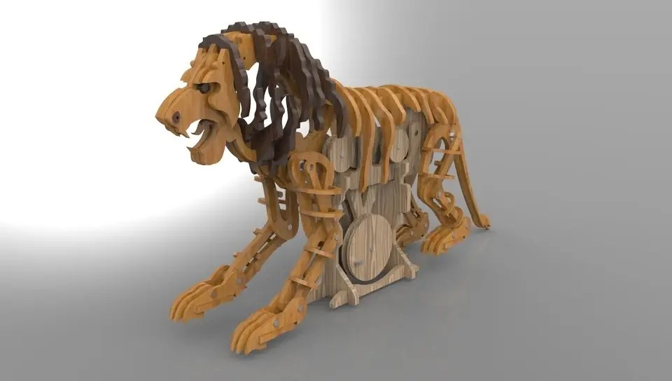 Winner Of The Make Your Laser Cut Toy Challenge