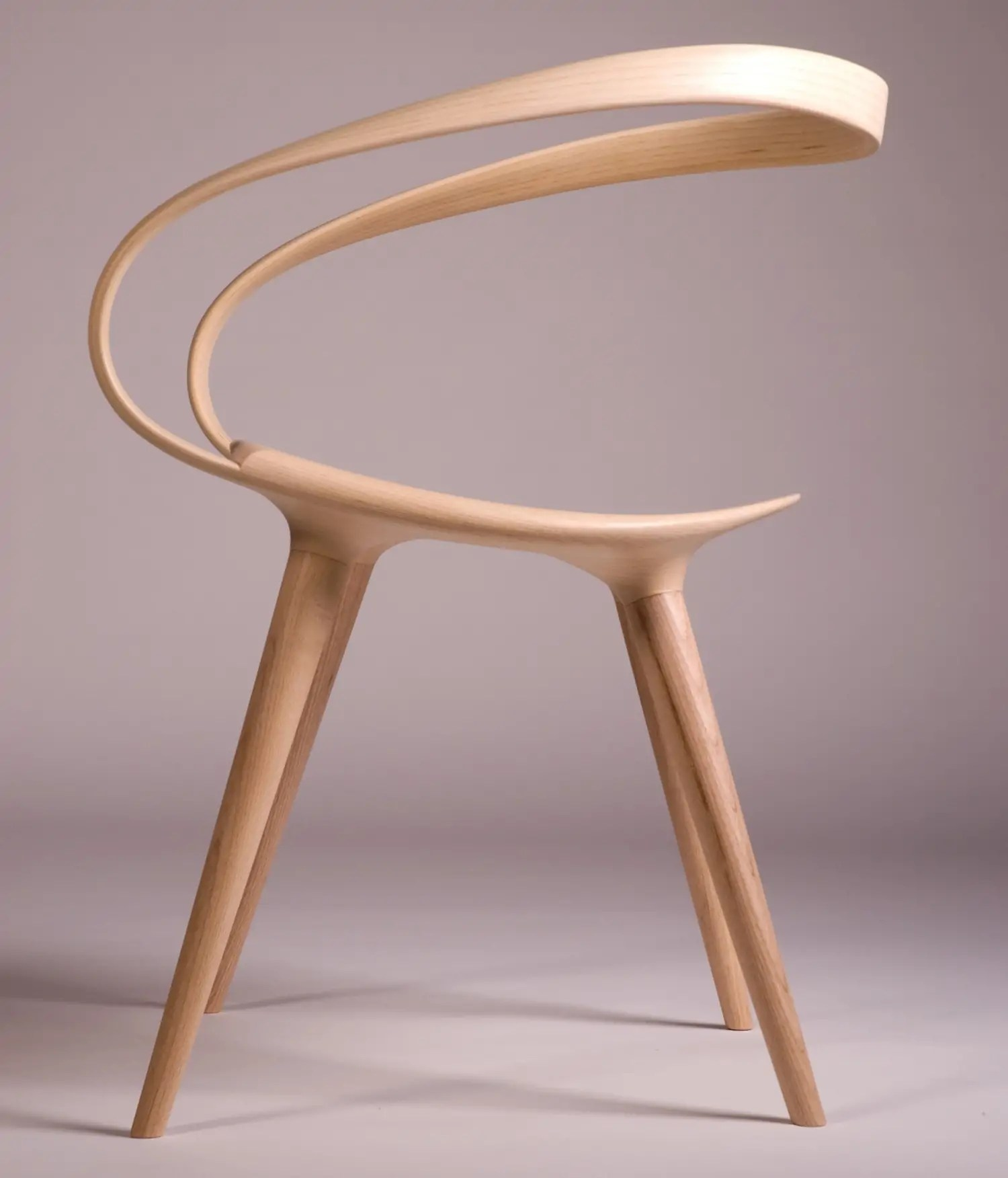 Bent Plywood Chair This Insane Bent Plywood Chair Is Inspired By Modern