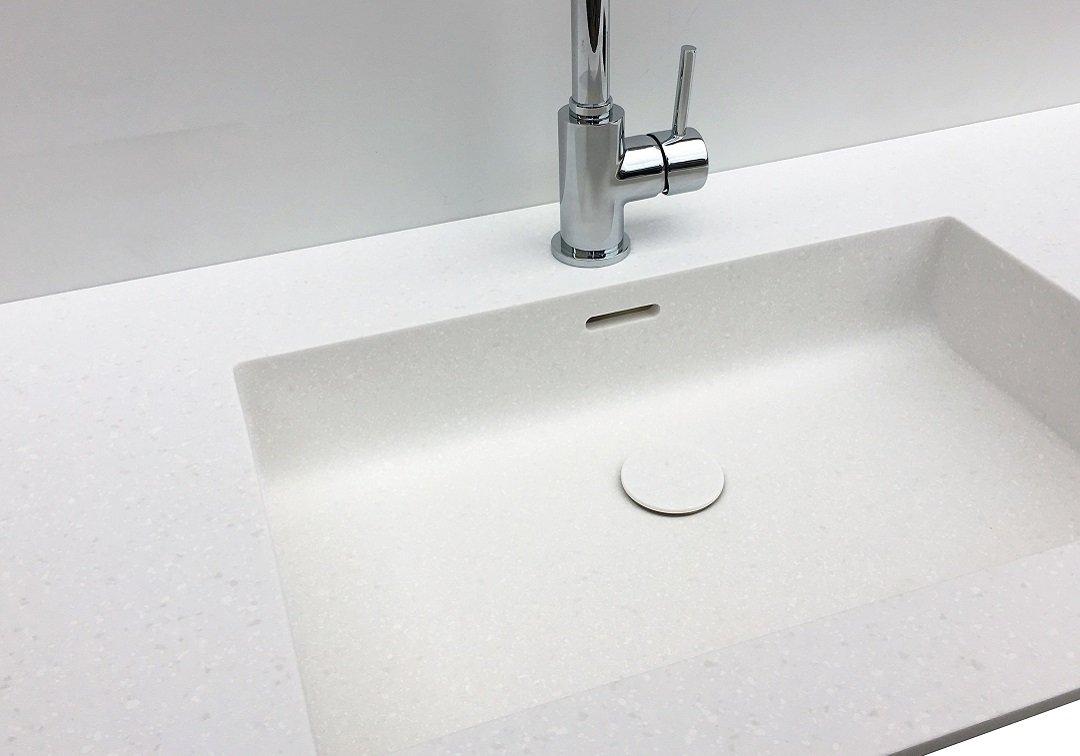 Wastafel En Kast.Wastafel Zonder Kast Baths By Clay Volledig Op Maat Gemaakt