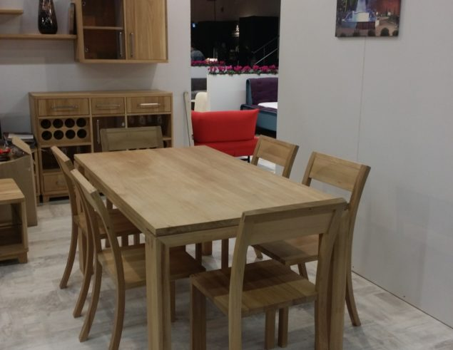 oak dining set 6 chairs perfect sleep chair solid table with soligna