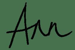Ann Soni Signature