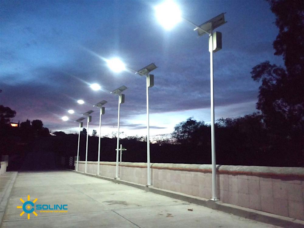 Paneles Solares Postes Luminarias Energa Sustentable2019