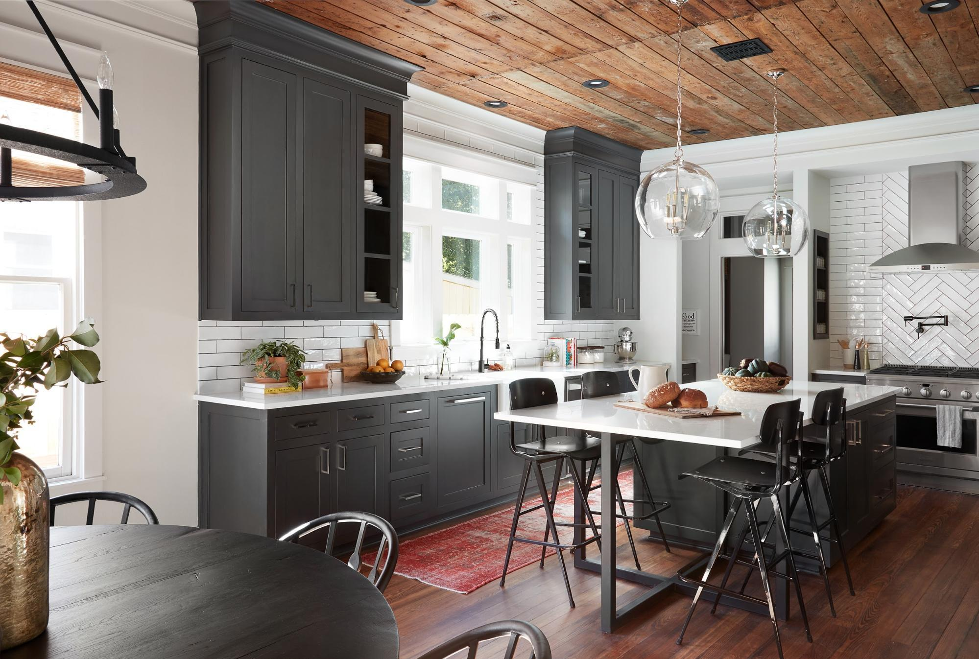 kitchen reno curtain rods thinking outside the box solis realty group