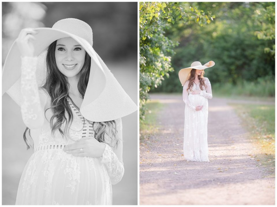 Outdoor maternity session at Sertoma Park, South Dakota