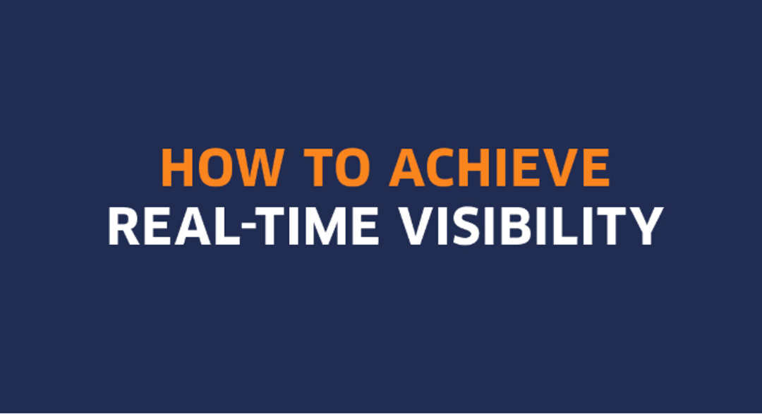 How to improve visibility in real time [INFOGRAPHIC]