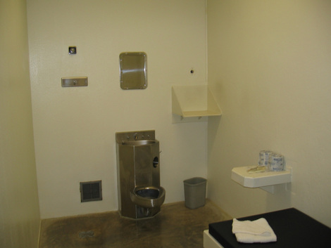 A cell at supermax Wisconsin Secure Program Facility in Boscobel