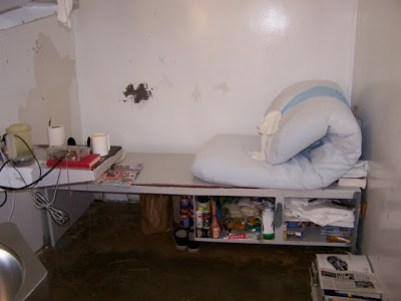 An occupied cell at Polunsky