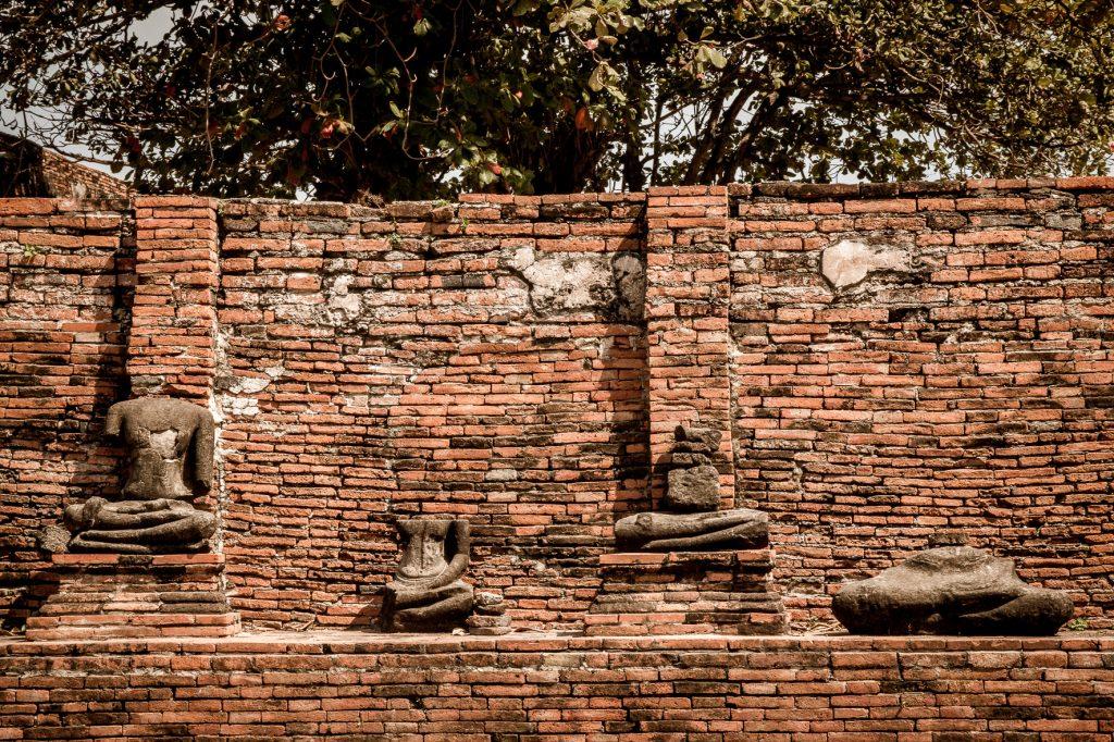 Ayutthaya temple wandering
