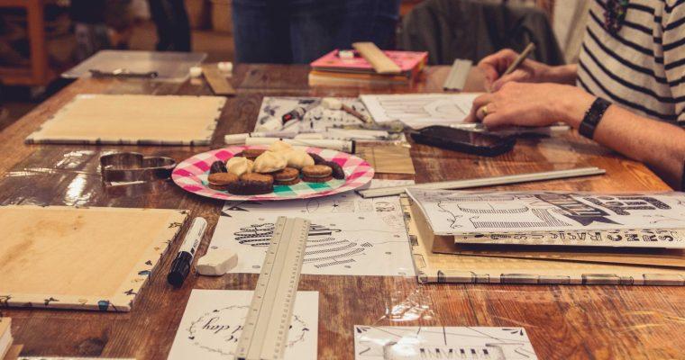 Handlettering: mijn eerste workshop in Amersfoort