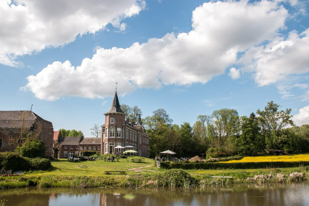 Home at Nieuwenhoven, castle view