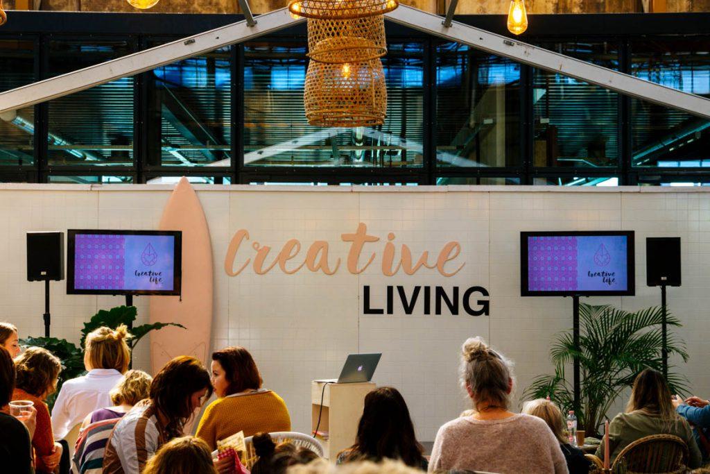 Creative Life 2018. Utrecht Werkspoorkathedraal.