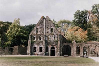 Abdij van Villers-la-Ville. Waals-Brabant, België. Abbaye de Villers.