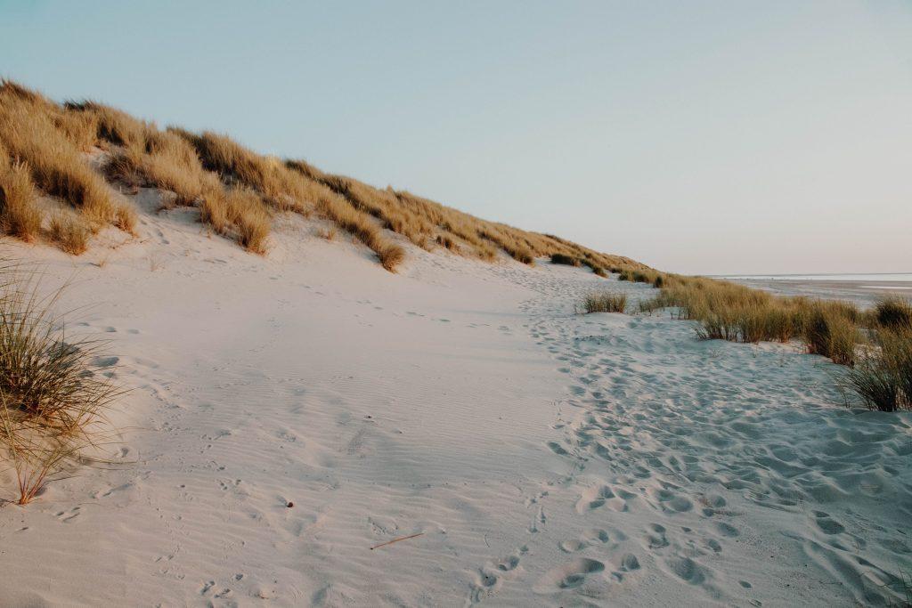 Renesse strand. Zeeland. Nederland.