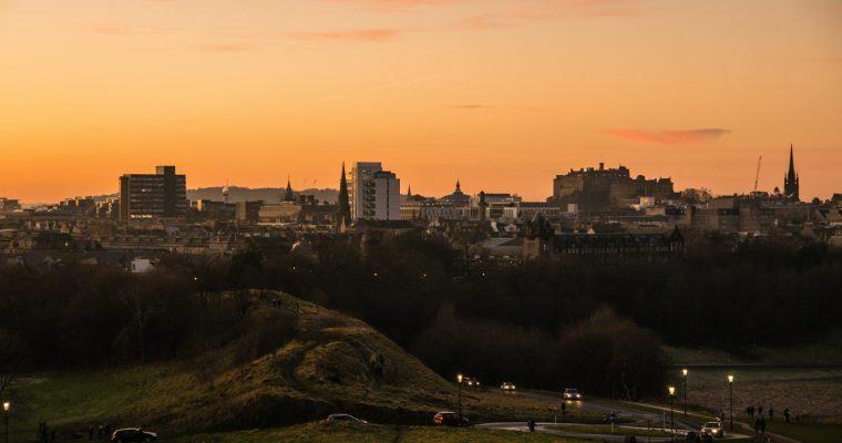 Holyrood Park: Hiken tot Arthur's Seat, vlakbij het centrum van Edinburgh!