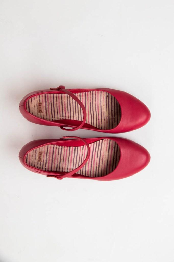 Rode schoenen Camper te koop