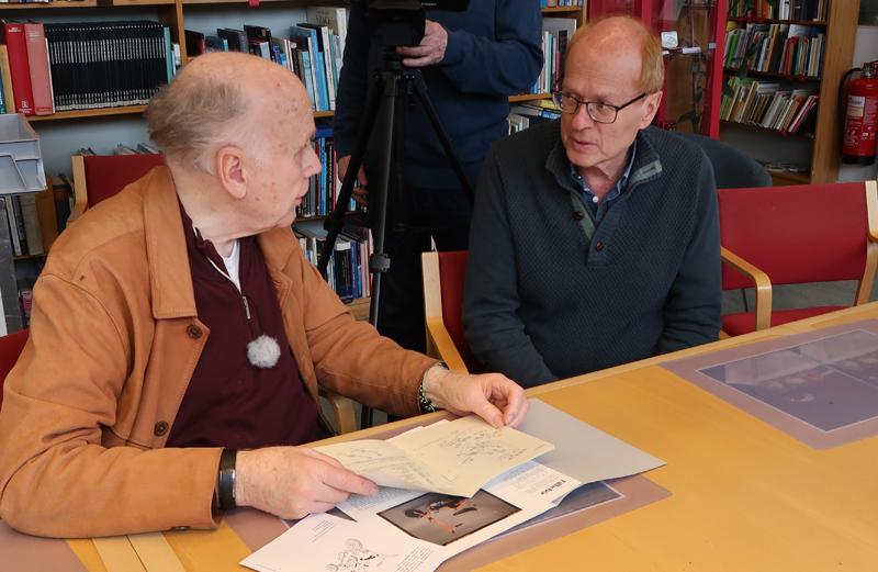 Bo och Mats på Tekbiska museet