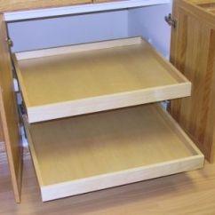 Under Cabinet Shelving Kitchen Round Pedestal Table Accessories - Sollera Fine Cabinetry
