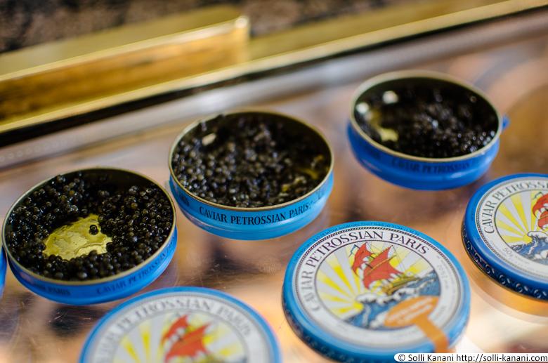 Petrossian Caviar Tasting - Blog About Paris . Fashion. Food & Travel