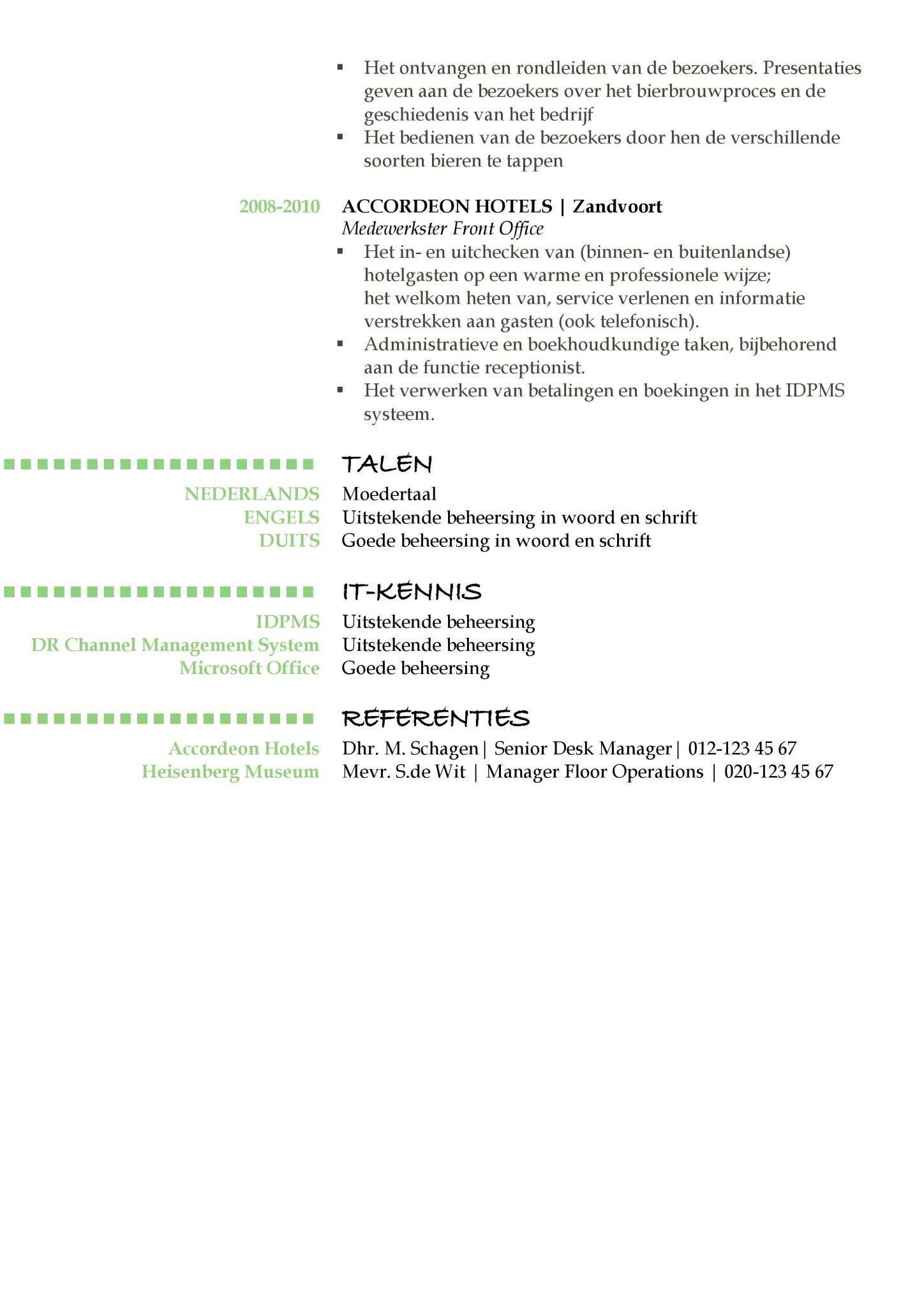 cv voorbeeld oxford green daylight 22 het maken van een gratis