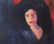 """Geheimnis"", 2014, 80 cm x 70 cm"