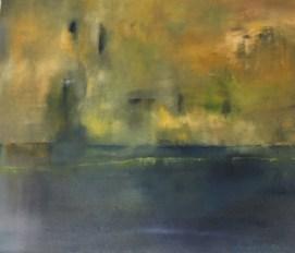 """""""Im Dunstkreis"""", 2017, 70 cm x 60 cm"""