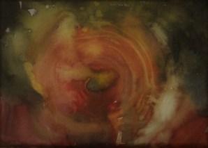 """Lanzarote 2"", 1990, Aquarell, 30 cm x 25 cm"