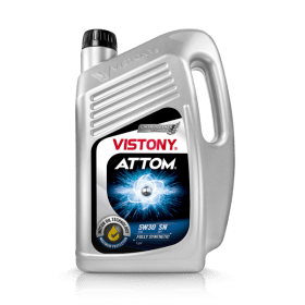 DISTRIBUIDOR DE ATTOM SAE 5W30 API SN FULLY SYNTHETIC VISTONY EN EL PERÚ